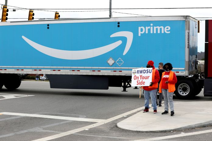 Labor board will hear objections to Amazon union election on May 7 | Latest News Live | Find the all top headlines, breaking news for free online April 27, 2021
