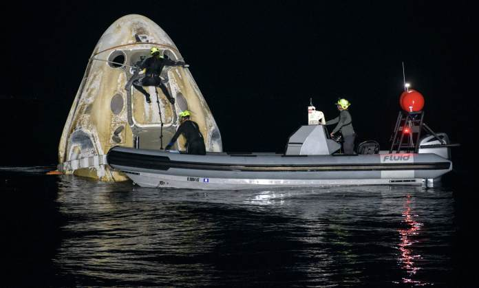 SpaceX Crew-1 mission splashes down with four astronauts after record mission for NASA | Latest News Live | Find the all top headlines, breaking news for free online May 2, 2021