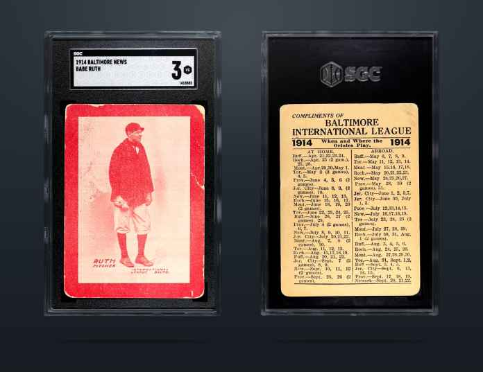 Babe Ruth's 1914 Baltimore card, valued at  million, sells for record price — now you can own part of it