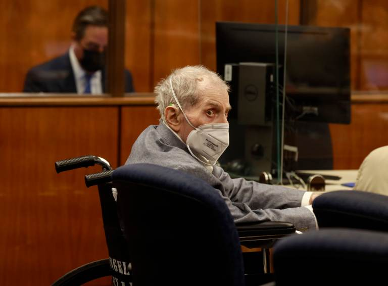 Watch New York actual property inheritor Robert Durst is hospitalized with Covid days after life sentence, his lawyer says – COVID-19 News