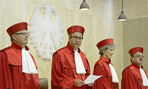 German court dismisses legal challenge against the EU's pandemic recovery fund   Latest News Live   Find the all top headlines, breaking news for free online April 27, 2021