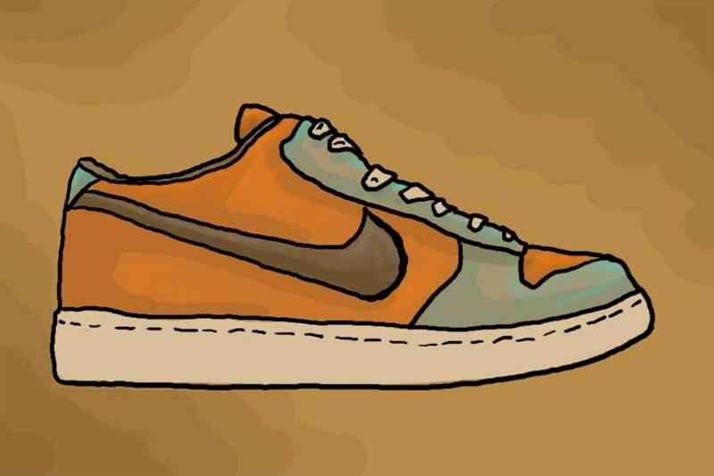 Comment Dessiner Des Chaussures Nike