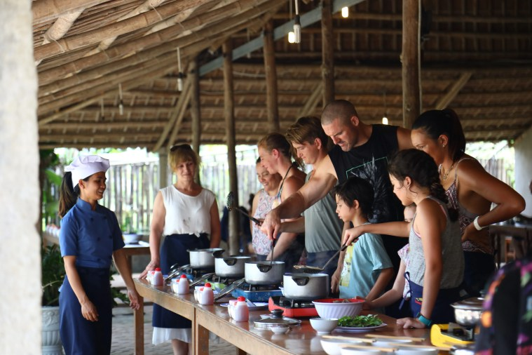 Thuan Tinh Island Cooking Class with Market Trip, Boat Ride through Water Coconut Forest