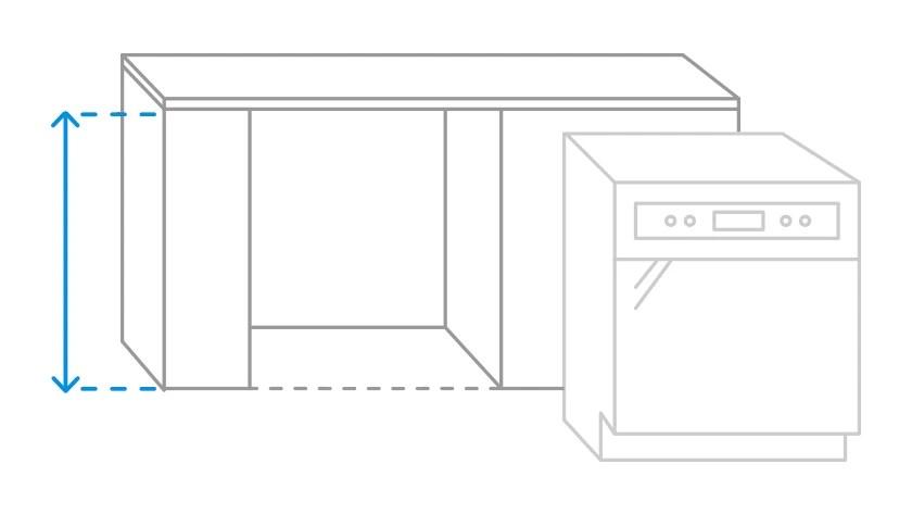Comment Determiner Les Bonnes Dimensions Pour Mon Lave Vaisselle Encastrable Coolblue Avant 23 59 Demain Chez Vous