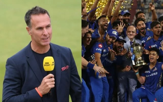 Michael-Vaughan and Mumbai Indians (Photo source-Getty)