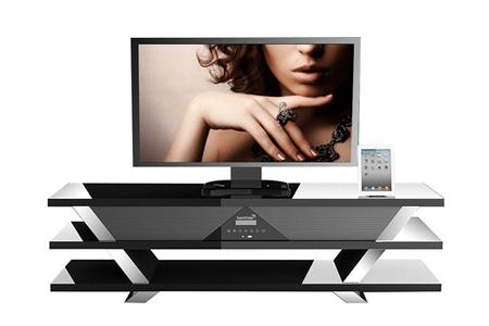 meubles tv soundvision sv 1600b noir