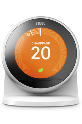 Thermostat connecté Nest SOCLE LEARNING THERMOSTAT 3E GENERATION nest learning thermostat, 3rd generation, works with amazon alexa Nest Learning Thermostat, 3rd Generation, Works with Amazon Alexa nest stand thermo 3e gen d1511164180801A 151457927