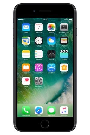 Iphone Apple Iphone 7 Plus 32go Noir Mnqm2zd A Darty