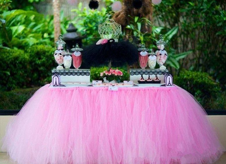 Pink Sky Blue Purple Tutu Tulle Wedding Decorations 2015