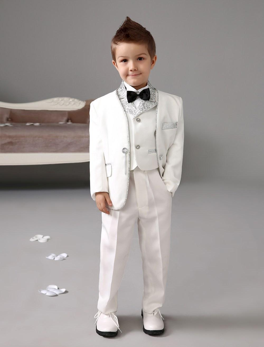 New Arrivals One Button White BoyS Formal Wear Occasion