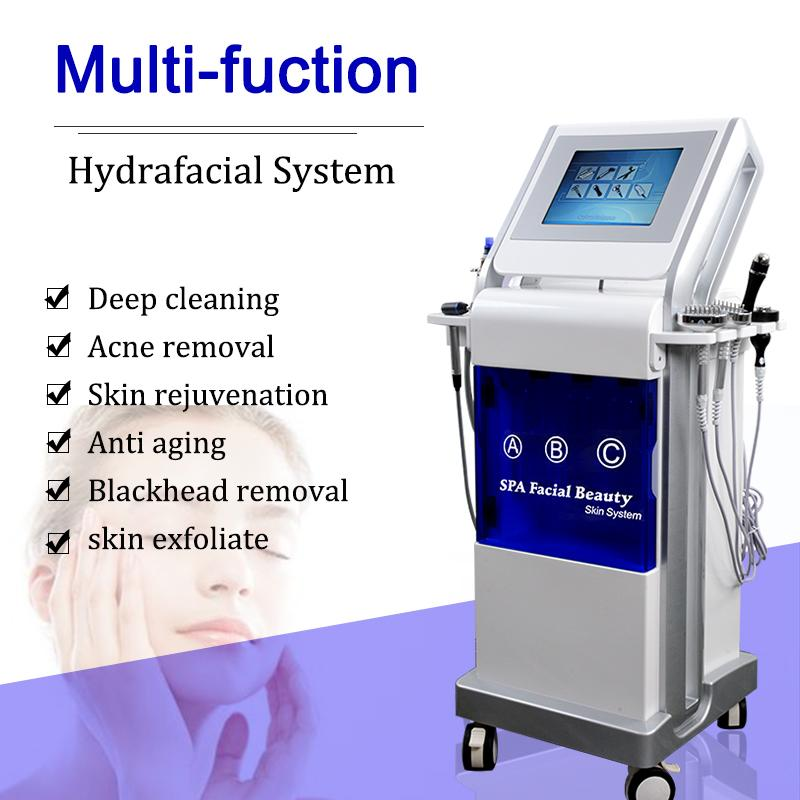 9 In 1 Hydro Facial Microdermabrasion Diamond Dermabrasion Skin Rejuvenation Machine Hydrafacial Water Dermabrasion Machine Anti Aging