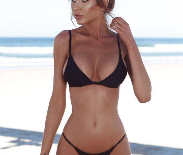 2019 2019 Hot Sexy Girl Bikinis Pure Sexy Simple Style Swimwear American Girls Bikini Swimsuit From Goldfin 7 04 Dhgate Com