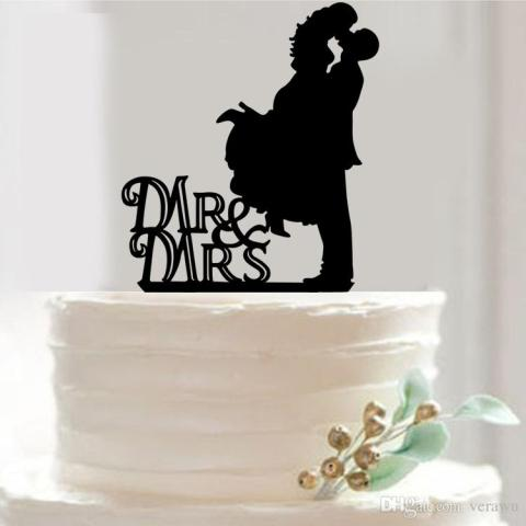 Romance Novel Wedding Cake Topper Acrylic Custom Name Cake Topper     Romance Novel Wedding Cake Topper Acrylic Custom Name Cake Topper Wedding  Cake Decorations Mr   Mrs In Cake Top Cheap Discount Wedding Decorations  Easy