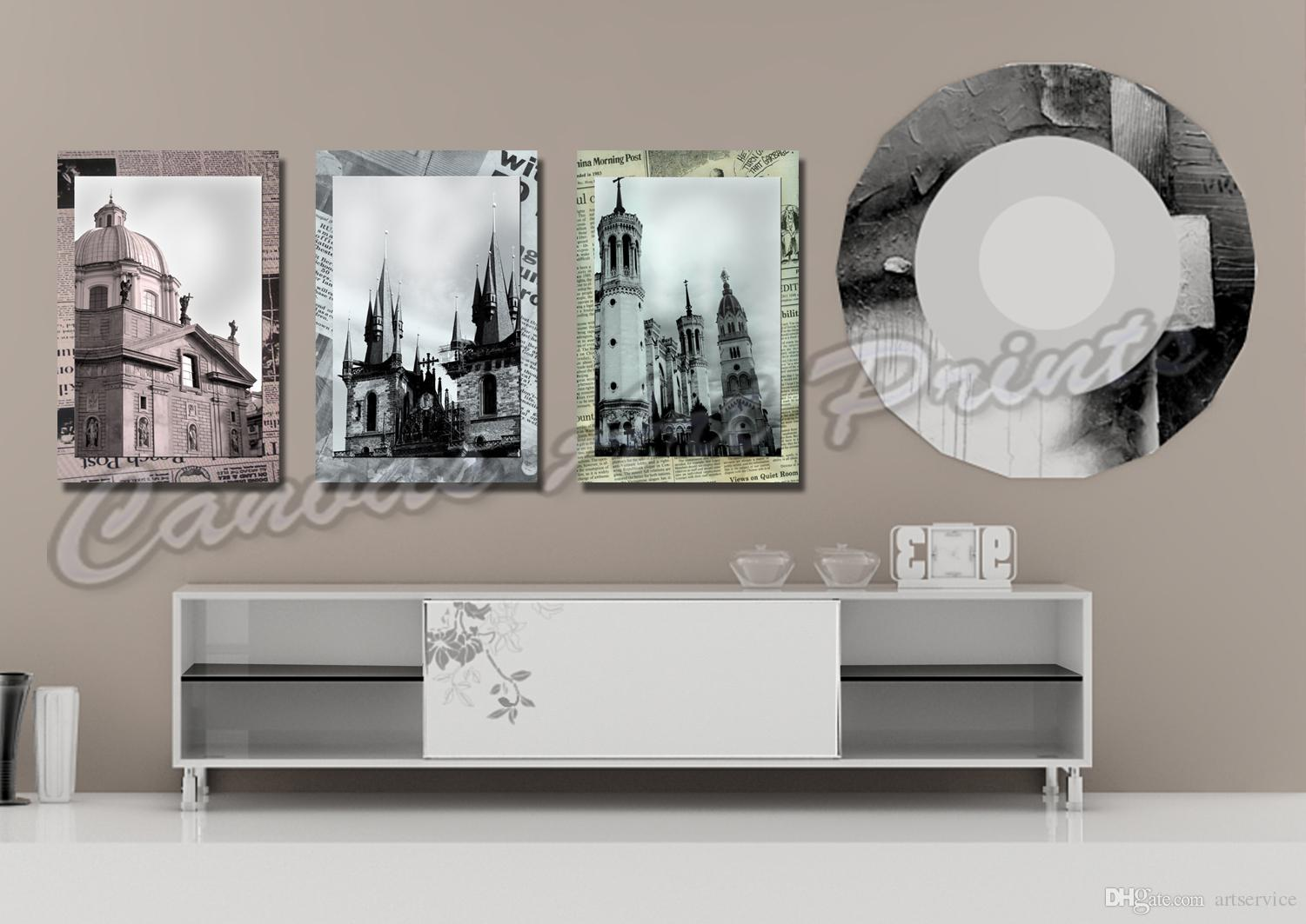 2019 Cheap Large Framed Art Home Decor Wall Paintings 3