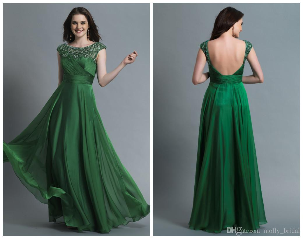 2016 Sexy Backless Long Elegant Evening Dresses For