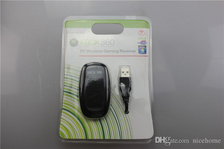 For Xbox360 New Black PC USB Gaming Receiver For Microsoft