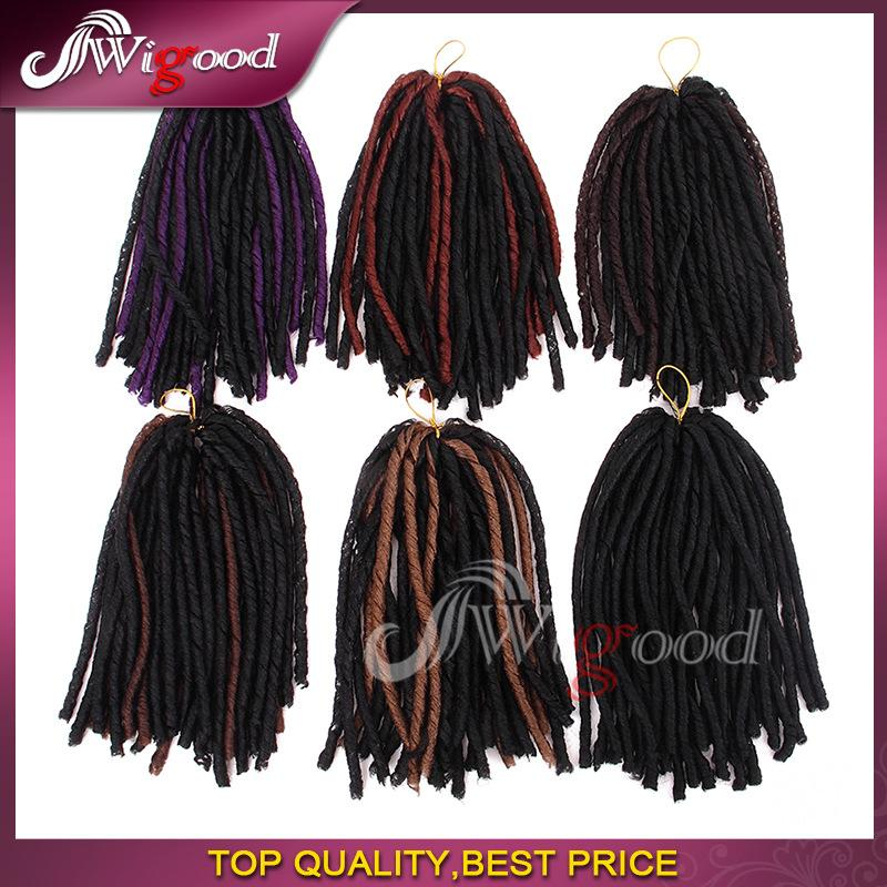Synthetic Hair Extension Darling Soft Dread Lock Hair