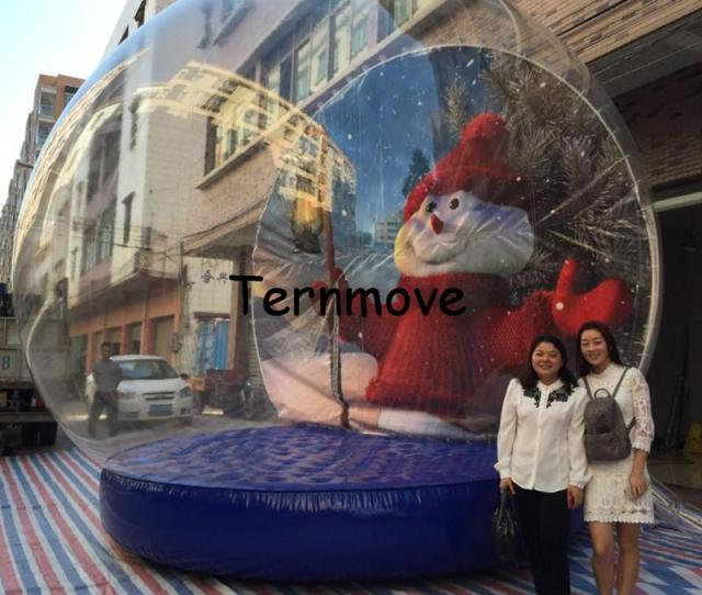 Inflatable Christmas Snow Globedecoration Natal Tree Theme New Year