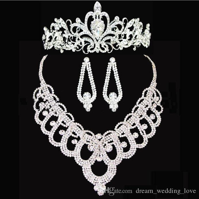 bridal crowns accessories tiaras hair necklace earrings accessories wedding jewelry sets cheap price fashion style bride ht143 bridal tiaras wedding