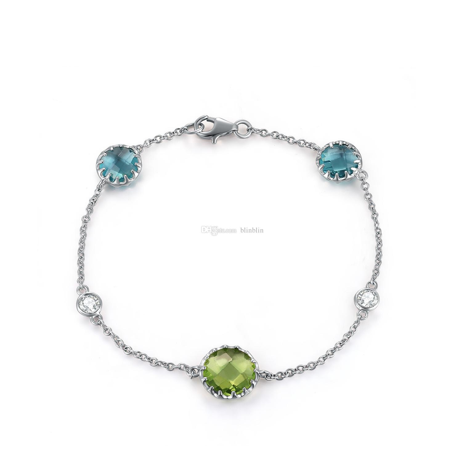 925 Sterling Silver Jewelry With Rhodium Plating Three