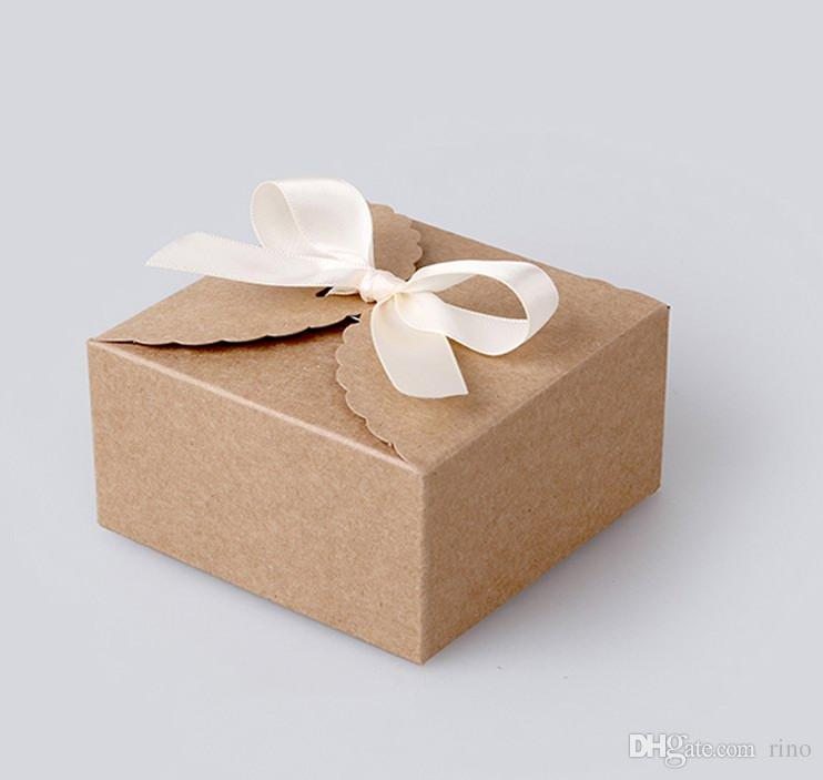 Wedding Favors Gift Boxes Candy Boxes Simple Style Kraft Brown Paper     Wedding Favors Gift Boxes Candy Boxes Simple Style Kraft Brown Paper Candy Box  Wedding Cake Boxes Chocolate Boxes Cheap Wedding Card Box Clear Wedding  Favor
