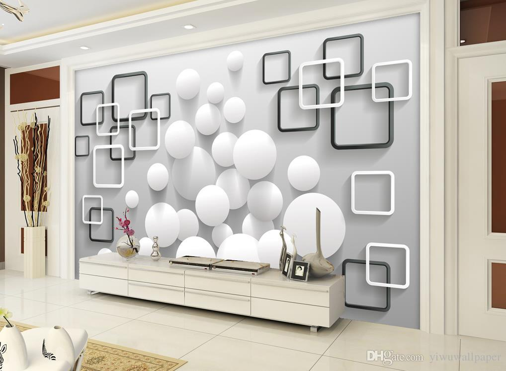 Custom Any Size Modern Minimalist Ball Box Background Wall Mural 3d     Custom Any Size Modern Minimalist Ball Box Background Wall Mural 3d  Wallpaper 3d Wall Papers For Tv Backdrop Wallpaper Free Desktop Wallpaper  Free Download