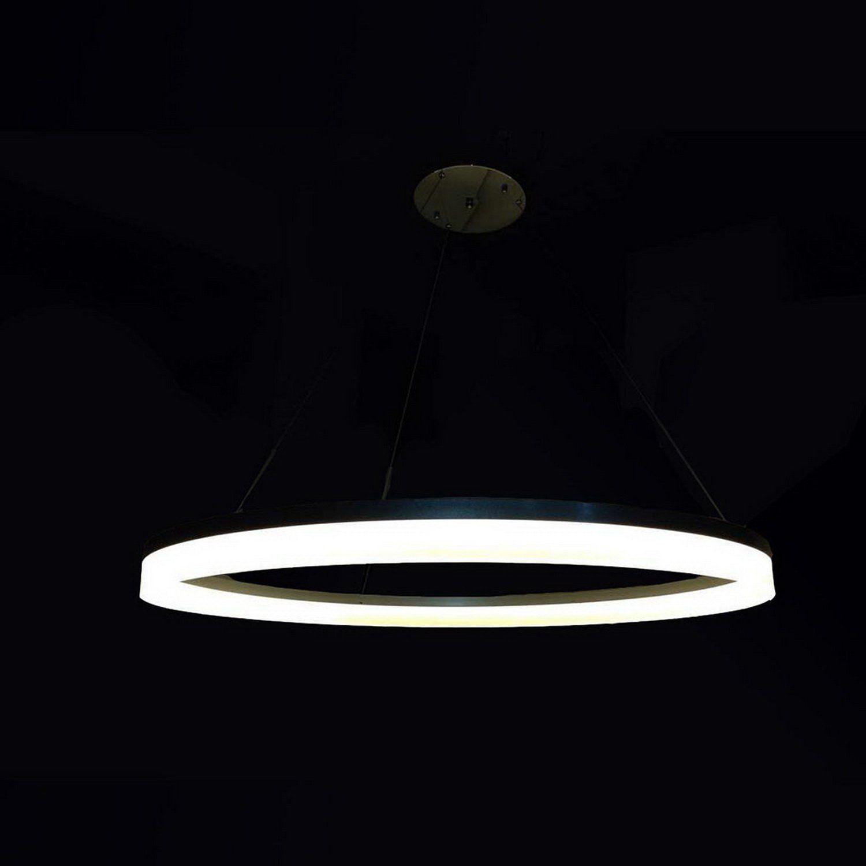 Lxledlight Round Led Pendant Light Modern Acrylic Lamps