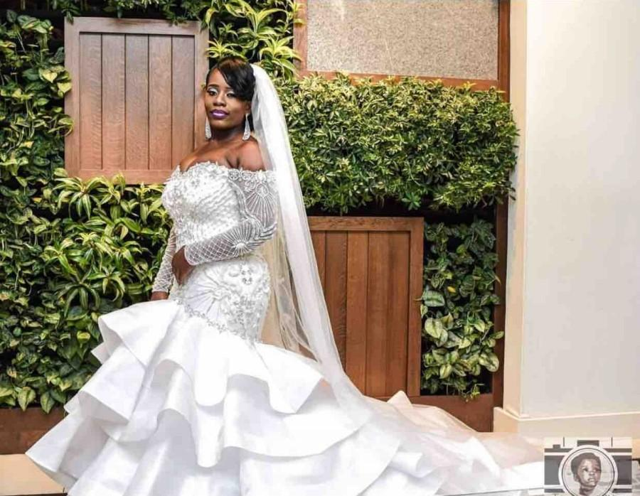 2018 Sexy Plus Size Mermaid Wedding Dresses Sweetheart Off
