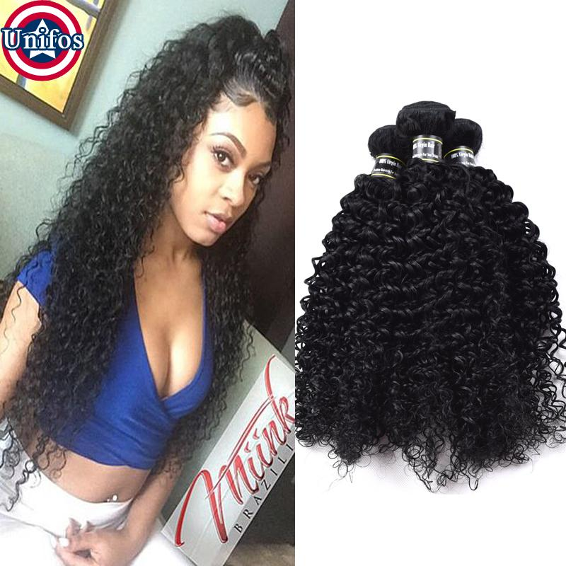 Brazilian Virgin Human Hair Weave Jerry Curly Cheap Price