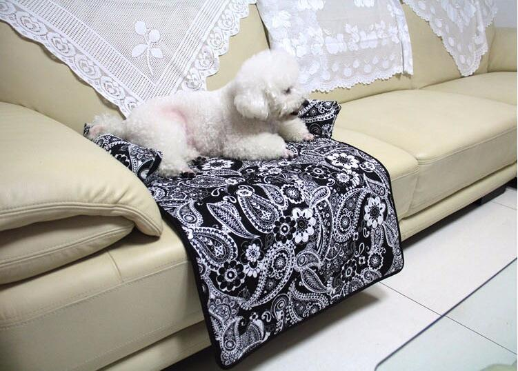 2019 Multi Function Soft Folding Pet Dog Cat Mat Anti Slip