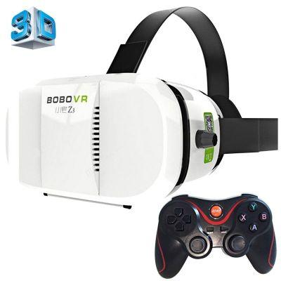 Wholesale- VR Case BOBOVR Z3 3D VR Glasses Virtual Reality Helmet Xiaozhai DK2 Gear Box Google Cardboard Box for 4 - 6 inch SmartPhone
