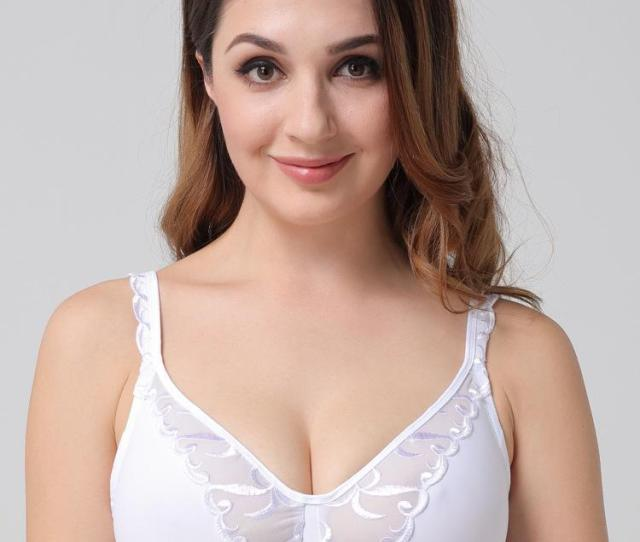 Fashion Lace Embroidery Plus Size Minimize Bras Fat Women G Cup Bra For Big Boobs Women Europe America From Hclhmx   Dhgate Com