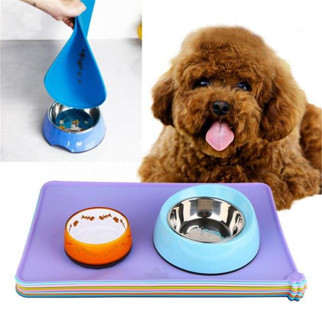 2019 Silicone Pet Puppy Feeding Mat Cat Pad Cute Bed Dish Bowl Food Water Feed Placemat Pet Supplies Aaa258 From Liangjingjing_watch 5 29 Dhgate Com