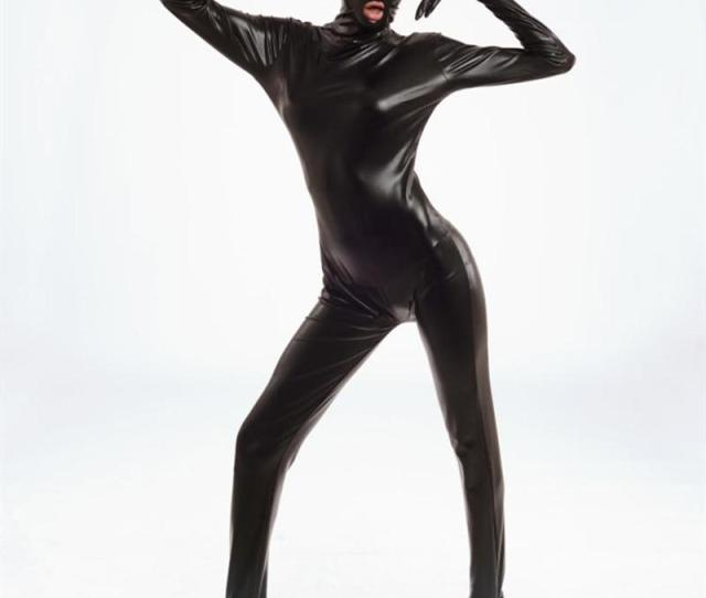 Spandex Bodysuit Shiny Catsuit Sexy Unisex Zentai Full Body Suit Sex Erotic Party Wet Look One Piece Unitard Adult Game Lingeries Tight Pencil Skirt Trendy