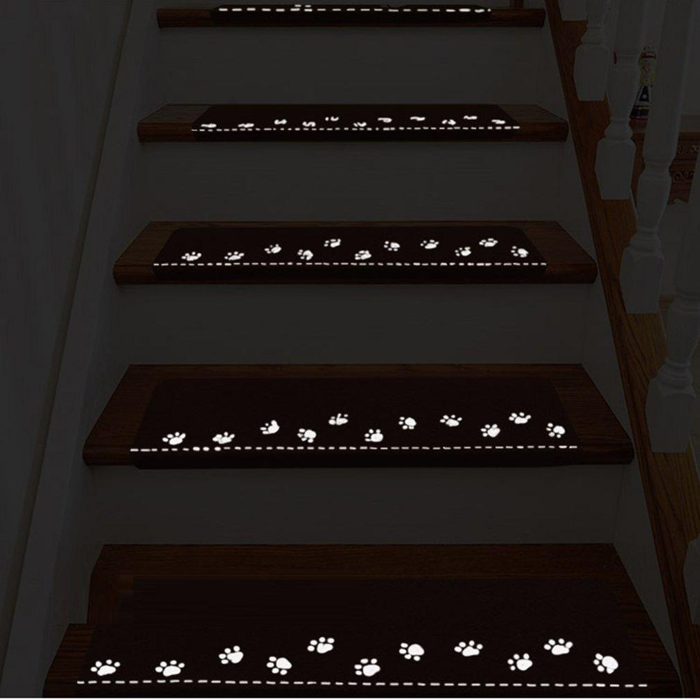 2020 Luminous Carpet Stair Treads Skid Resistant Rubber Backing   Stair Treads With Rubber Backing   Ottomanson Softy   Removable Washable   Wood   Slip Resistant   Outdoor Stair