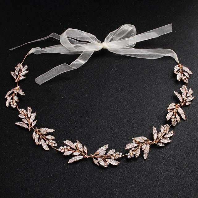 2019 hot style bride headdress alloy leaves handmade hair band amazon wedding accessories hair accessories wholesale from alanjewelry, $5.03 |