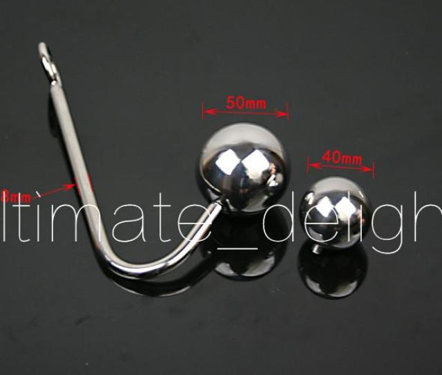 Stainless Steel Anal Hook With Two Ballsmetal Anal Hook Butt Plugsex Toys For Menfun Adult Games Sex Products Tail Plug Women Sexy From Ultimate_delight