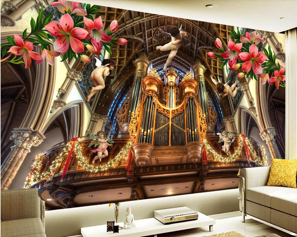 Custom Wallpaper For Walls 3d Wallpaper Bedroom Living Room Church Angel Tv Background Wallpaper Images For Wallpaper Images For Wallpaper Hd From Yeyueman1111 10 41 Dhgate Com