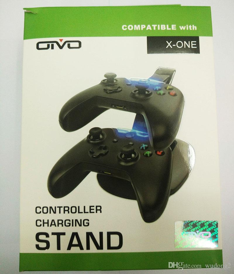 Dual Controller Charger Charging Dock Stand Station For