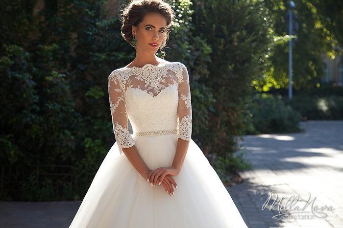 Discount Millanova 2019 Modest A Line Wedding Dresses With
