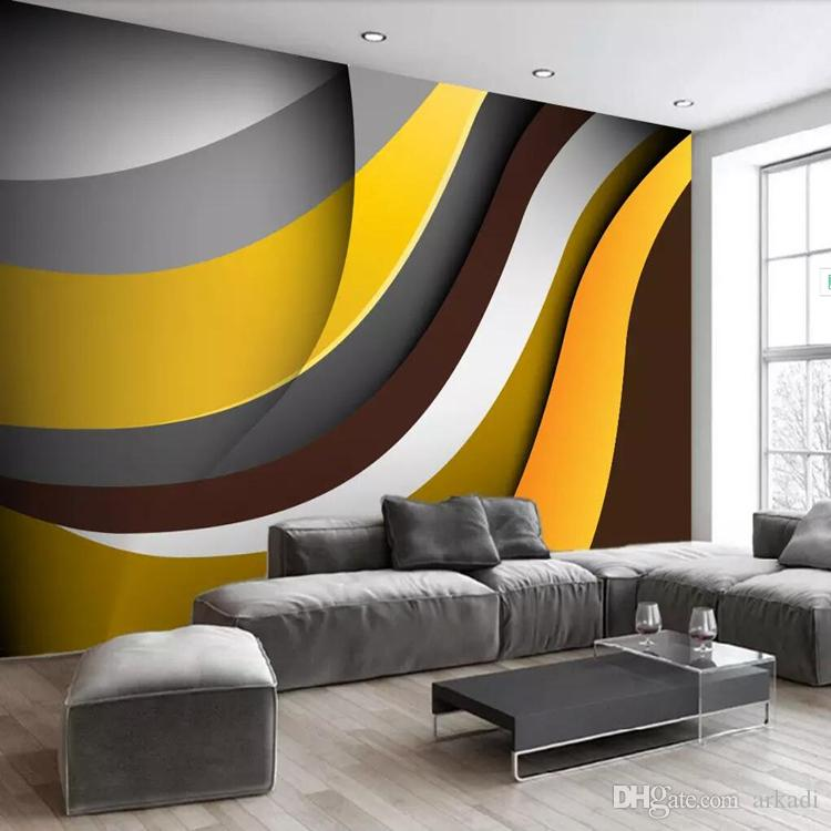 acheter arkadi 3d papier peint scandinave moderne simple abstrait creatif papier peint geometrique murale noir et blanc salon tv fond mur co de 26 39