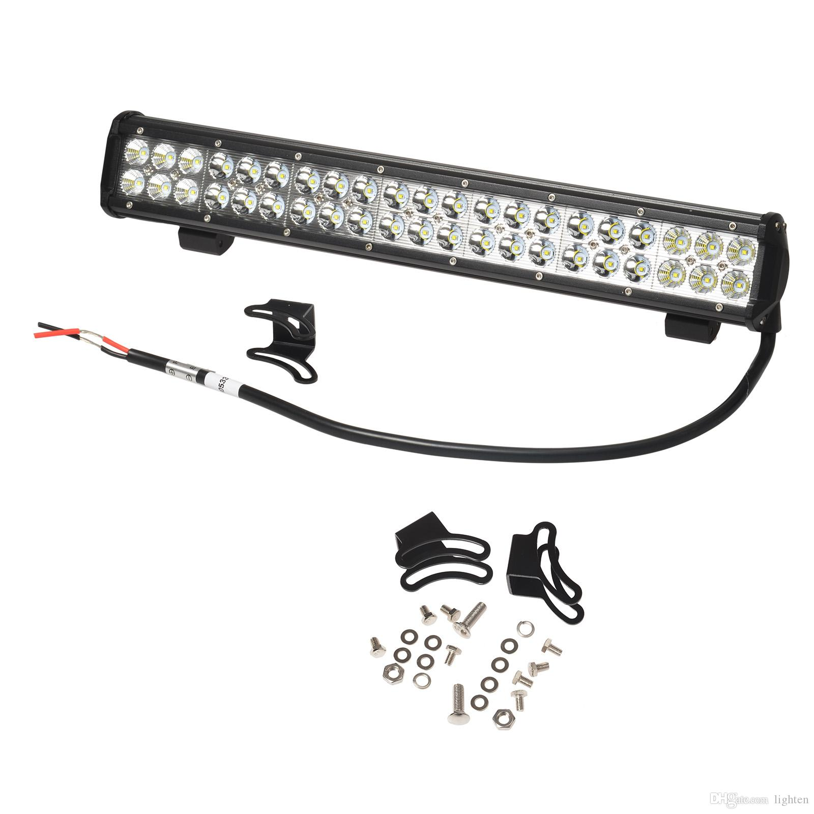 Free Ship 22 5 144w Cree Led Light Bar Truck Work Light