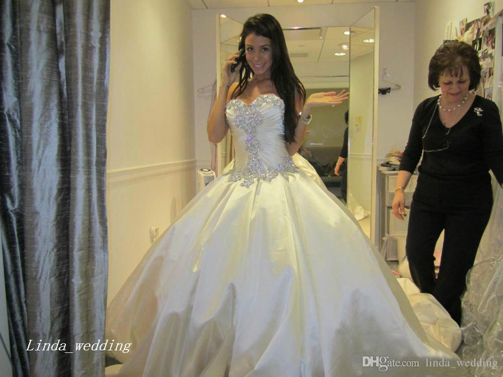 Pnina Tornai Wedding Dresses Romantic Ball Gown Sparkly