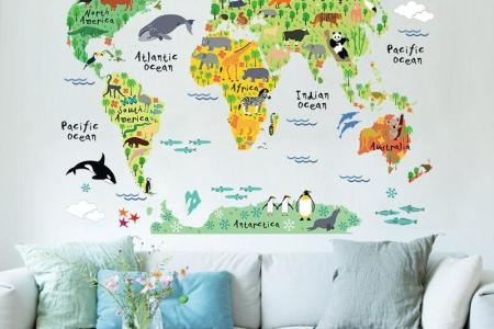 Cute World Map Background Path Decorations Pictures Full Path - Cute world map wallpaper