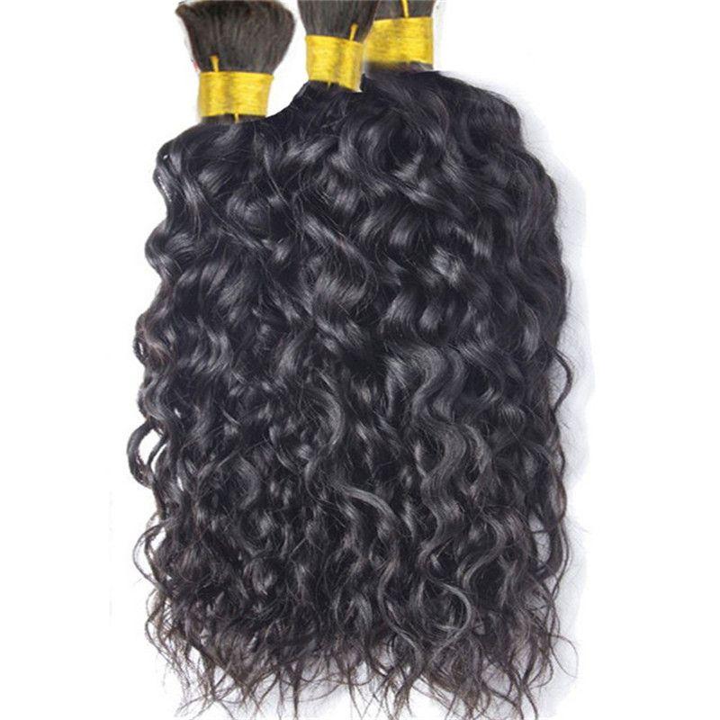 Human Hair Bulk No Attachment Cheap Brazilian Natural Wave