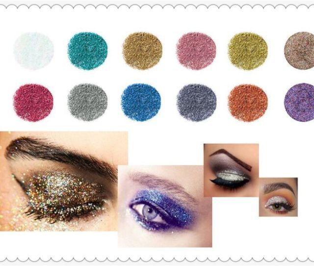 High Quality Fashion Popfeel Diamond High Pearl Eyeshadow Powder Metallic Shimmering Glitter Combination 0201034