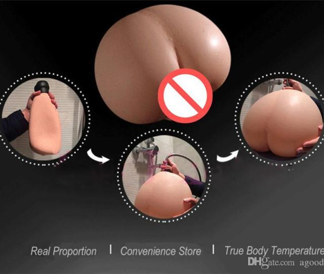 Solo Flesh Sex Doll Male Masturbactor Injecting Warm Water Filling Inflatable Silicone Realistic Pussy Real Body
