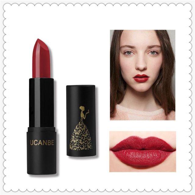 High Quality Ucanb Fashion 8 Color Bite Lip Makeup Lipstick Non Stick Cup Non