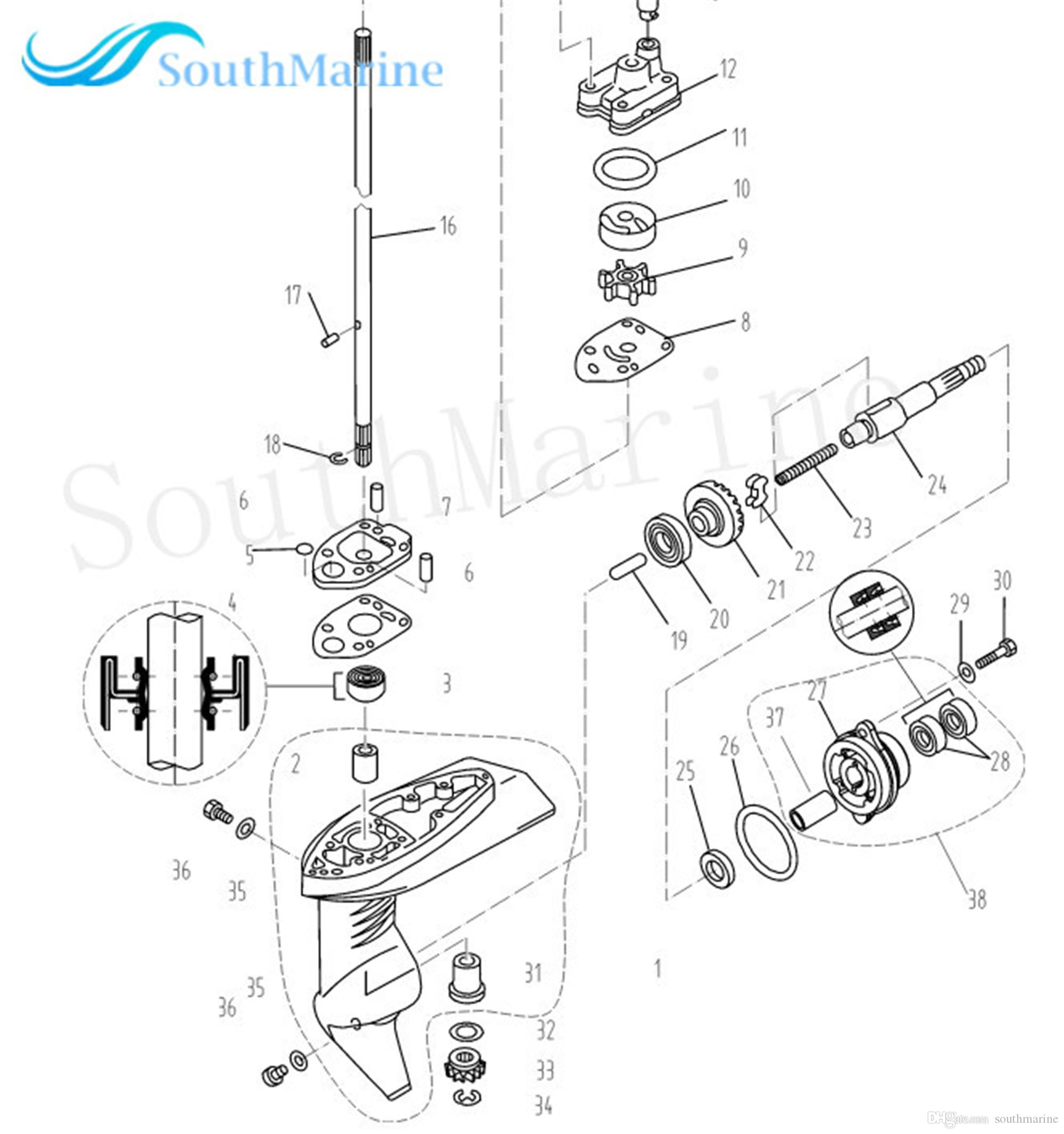 Outboard Motor Dimensions