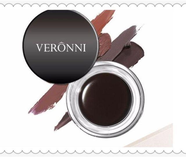 Fashion Makeup Veronni Eyebrow Pomade Gel Enhancer Waterproof Durable Eyebrow Cream Salon Eye Brow Tint Eye